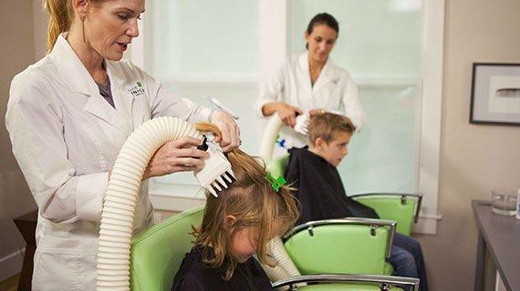 head lice treatment clinicians